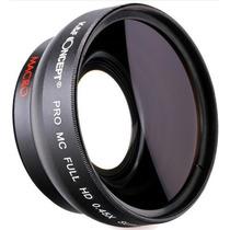 Super Lente Nikon 58 Mm Hd Macro Angular Zoom 0,45x 18-55mm