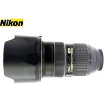 Nikon 24-70mm F/2,8g Ed N Af-s   Usada   Com Parasol