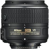 Lente Nikon Af-s 18-55mm Vr2. Produto Novo E Original Nikon