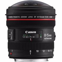 Objetiva Canon 8-15mm F4 L Usm Olho De Peixe - Temos Loja