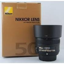 Lente Nikon Fx 50mm F1.8g Af-s