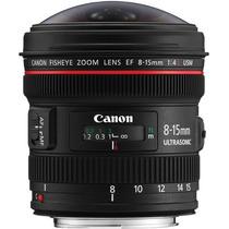 Lente Canon Olho De Peixe Ef 8-15mm F/4l Usm