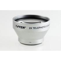 Lente Auxiliar Tele Tiffen 30mm 1,3x Para Filmadoras
