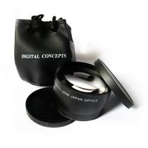 52mm Tele Objetiva 2.0x Nikon D5300 D5200 D5100 18-55mm