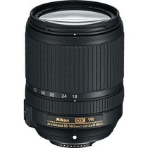 Lente Nikon Af-s Dx 18-140mm F/3.5-5.6g Ed Vr 12x Sem Juros