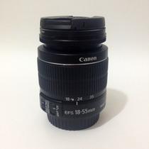Lente Objetiva Canon Ef-s 18-55mm F3.5/5.6 Is Ii + Filtro Uv