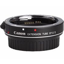 Tubo De Extensão Canon Ef12ii 12mm