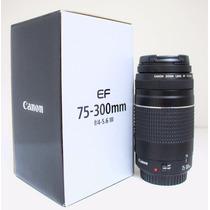 Lente Canon Ef 75-300mm F/4-5.6 Iii -nova