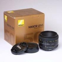 Lente Nikon 50mm F1.8d Af Nikkor Lens Para Câmera Nikon Rs!!