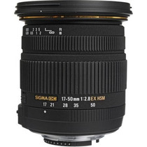 Objetiva Sigma 17-50mm F/2.8 Ex Dc Os Hsm Para Canon