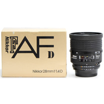Objetiva Nikon 28mm 1.1.4 Af-d Muito Rara 206635