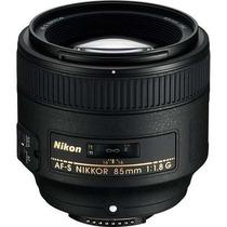 Lente Nikon Nikkor Af-s 85mm F/1.8g