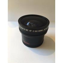 58mm Adaptador Fisheye Bower Canon - Olho De Peixe (16x)