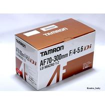 Lente Tamron 70-300mm F/4-5.6 Di Ld Macro P/ Nikon