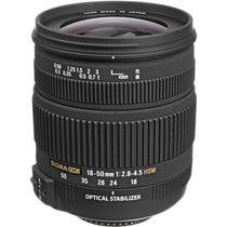 Lente Sigma Nikon 18-50mm F/2.8-4.5 Dc Os Hsm