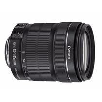 Lente Canon Efs 18-135mm F/3.5-5.6 - Original!