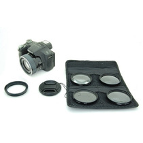 Kit Lentes Macro Sony Dsc Hx100 Hx200 1+ 2+ 4+ 10+ 58mm