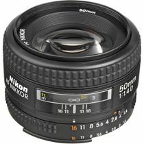 Lente Nikon 50mm F/1.4d Af Nikkor