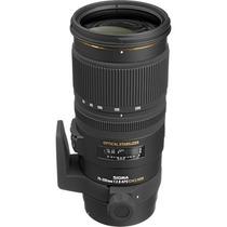 Lente Sigma 70-200mm F/2.8 Ex Dg Os Hsm P/ Nikon + Filtro Uv