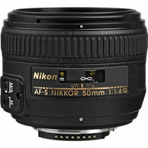 Lente Nikon Af-s Nikkor 50mm F/1.4g + Caneta De Limpeza