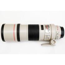 Lente Telefoto Canon Ef 300mm F/4 Is Usm Estabilizador