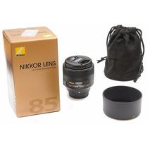 Lente Nikon 85mm 1.8 G F/1.8 Nova Mercadolider Platinum