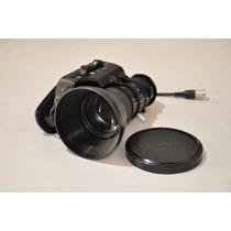 Lente Fujinon S14x7.3b12u - Para Filmadoras Panasonic, Jvc