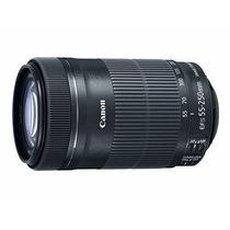 Lente Canon Ef-s 55-250mm F4 5.6 Is Retirada Em Mãos