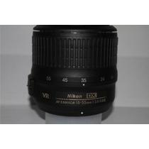 Lente Nikon Af-s 18-55mm F/3.5-5.6g Vr Pronta Entrega