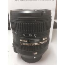 Lente Nikon 24 85 Mm Nova Na Caixa - Aceito Trocas