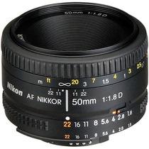 Lente Nikon Af Nikkor 50mm F/1.8d Autofoco +nfe +garantia