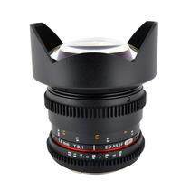 Lente Samyang 14mm Tcine T3.1 Grande Angular Rokinon Canon
