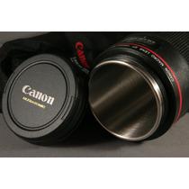 Presente Para Fotógrafo Copo/caneca Lente Canon 100 Mm Macro