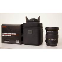 Lente Sigma Canon 17-50mm F/2.8 Ex Dc Os Hsm 100% Qual. Pos.