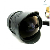 Lente Rokinon Fe8m-c 8mm F3.5 Fisheye P/ Canon + Parasol