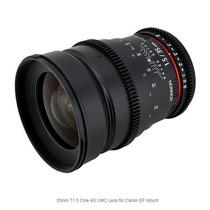 Lente Rokinon 35mm T1.5 Cine As Umc Para Canon Ef Mount Nova