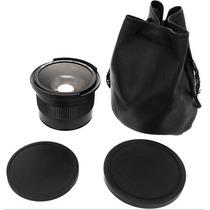 Lente Olho De Peixe Fisheye Para Cameras Nikon 0.35 X 58 Mm