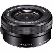 Lente Sony 16-50mm F/3.5-5.6 Oss E-mount +nfe Pronta Entrega