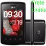 Celular Lg L20 Android 4.4 Wifi Preto Frete Grátis