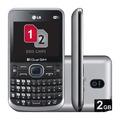 Celular Lg C397 Dual Chip Câmera 2mp Mp3 Desbloqueado C/ Nf