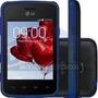 Lg L50 D227 Preto/azul - Dual, Tv Digital, Tela4 Nota Fiscal