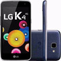 Celular Lg K4 Dual Android 5.1 4.5 8gb 4g 5mp +nfe+garantia
