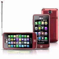 Lg Gm600 Scarlet Ii Vermelho C/ Tv Digital,câm 3.2mp,mp3,fm