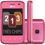 Lg L1 E475 Tri 3 Chip 3g Wifi Andr 4.1 Mem 4gb- De Vitrine