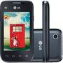 Celular Lg L35 4gb Dual Chip Tv Digital Android Frete Grátis