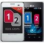 Celular Smartphone Lg Optimus L3 E405 Novissimo 2 Chips 3g