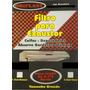 Filtro Exaustor Depurador 02 Unidades De 4 A 6 Bocas Branco