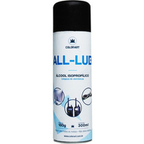 Álcool Isopropílico Colorart Isopropanol Spray Aerosol 300ml