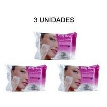 3 Lenço Demaquilante Removedor Maquiagem Ruby Rose 25 Lenços