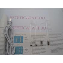 Alta Frequência Profissional Portátil Com 4 Eletrodos